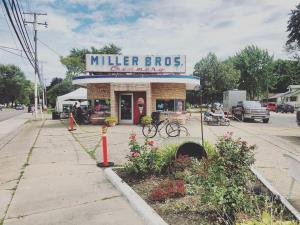 Customer appreciation event at Miller Bros Creamery