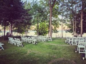 Beach Wedding in Lexington, MI